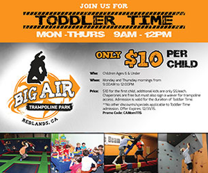 Big Air Toddler time ad