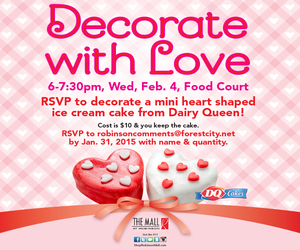Mall At Robinson Valentine Event