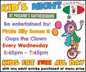 Paisano's Pizza Kid's Night