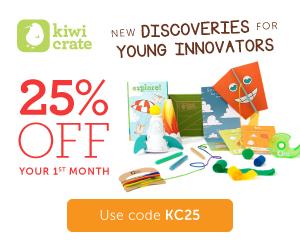 Kiwi Crate 25% Off!