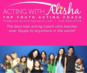 acting with alisha