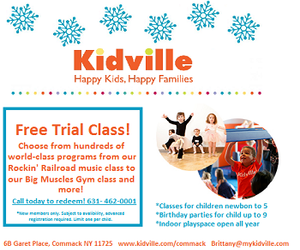 Kidville Commack New