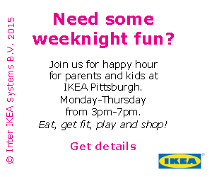 IKEA Pittsburgh Happy Hour