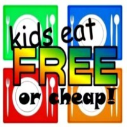 Kids eat for free or cheap