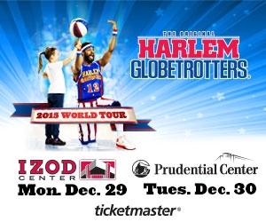 Harlem Globetrotters Izod & Prudential