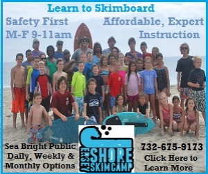 Jersey Shore Skim Camp