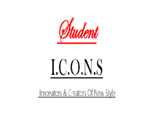 Student Icons