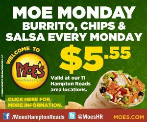 Moe's $5.55 Mondays