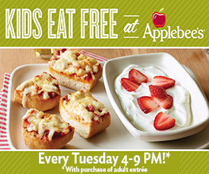 Applebees Kids Eat Free