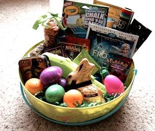 20 great ideas for easter springtime fun macaroni kid think you cant have an easter basket without candy think again negle Choice Image