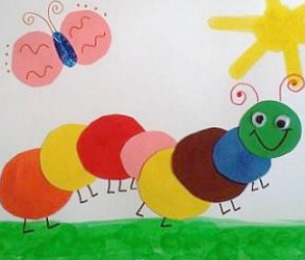 Caterpillars and butterflies are welcome signs of spring this quick